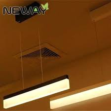 office lighting options. Suspension Ceiling Lights Modern Design Led Office Linear  Pendant Lighting 4 Drop Options Office Lighting Options E