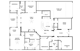 3 bedroom house plans with bonus room at 2