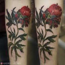 мактатуцветы акварельреализм татуировки тату татуировки и цветы