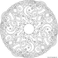 Small Picture sun moon and stars mandala s2ada Coloring pages Printable