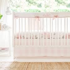 buffalo plaid crib bedding pink fl