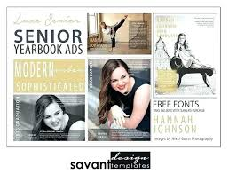 Ad Page Templates Senior Yearbook Pages Templates Photography Andreasleu