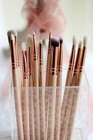 12pcs set zoeva rose golden plete eye set precision eyes makeup brushes set with eyeshadow