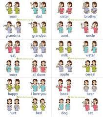 Amazon Com Baby Sign Language Wall Chart Baby