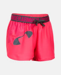under armour shorts for girls. girls\u0027 ua play up graphic shorts 1 color $17.99 under armour for girls \
