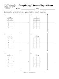 graphing linear equations worksheet fun functions worksheets algebra 2 making practice 1 worksh