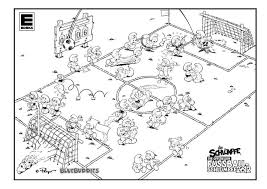 Small Picture Nfl Football Field Coloring Pages Coloring Coloring Pages
