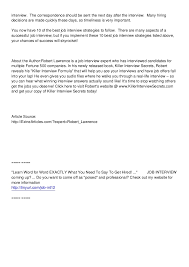 9 Thank You Letter After Teacher Interview Lease Template Example