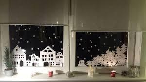 Fensterbild Winterlandschaft Zum Ausdrucken Fensterbilder
