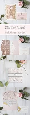 7 Super Elegant Pink Wedding Invitations From Ewi 2017 New Unique Spring Photo Wedding Invitations Ewi