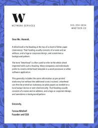 Free Sample Letterhead Template Word Publisher Plain Templates ...
