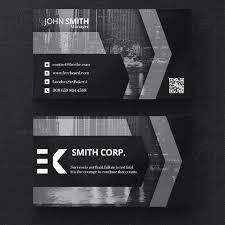 Free Psd Business Card Templates Dark Business Card Template Free Psd Bestgrap