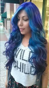 50 Shades Of Blue Bluehair Purplehair