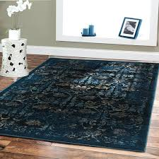 navy blue area rug 8x10 modern in outstanding styles solid