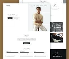 Resume Website Stunning Web Elements Templates Free Model Portfolio Website Template Html40