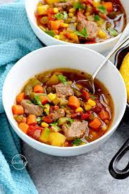 instant pot vegetable beef soup a