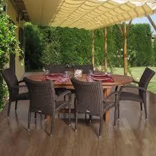 ia lemans deluxe 7 piece patio dining set lemans set deluxe the home depot