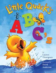 book cover image jpg little quack s abc s