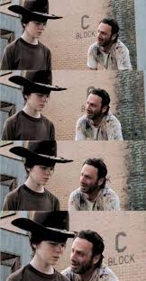 Rick And Carl Meme | Kappit via Relatably.com
