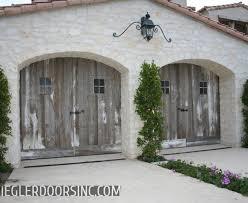 rustic garage doorsSplashy Carriage House Garage Doors look Other Metro Traditional