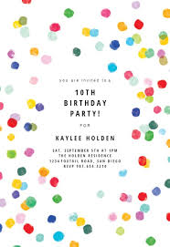 Birthday Invitation Party Birthday Invitation Templates Free Greetings Island