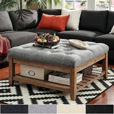 square ottoman coffee table square ottomans storage ottomans at our