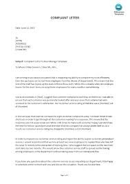 How To Write An Employee Complaint Letter An Easy Way To