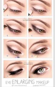 make your eyes look bigger with this natural look light browns and a little black is all you need to look amazing visit beauty for s that will