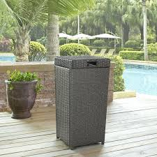 outdoor wicker trash can palm harbour costco