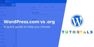 Wordpress Com Vs Wordpress Org Key Differences Which One