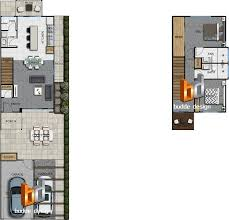 floor plan furniture symbols bedroom. Colour Floor Plan 2 Bedroom Level Townhouse, Unit, House Part Of A 29 Unit Development - Ormeau Oaks, Hills QLD Furniture Symbols