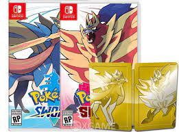 Pokemon Sword and Shield Dual Edition – xGAMESHOP-Retail Store Games