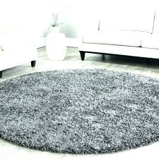 black and white plush rug round area rugs fluffy luxury for living room plush area rug