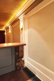 home theater step lighting. The Basement Of An Elegant Home Has Been Transformed Into A Family  Recreation And Sports Retreat. Theater Step Down Seating For Twelve With Lighting