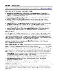 Contractor Resume Template General Contractor Resume Resume Templates 9
