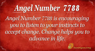 Angel Number 7788 Meaning - Time To Accept Change - SunSigns.Org