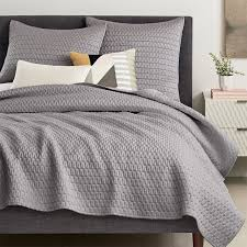 Modern Quilts & Coverlets | west elm & Gramercy Coverlet + Shams ... Adamdwight.com
