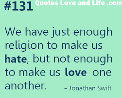 Religion Quotes Amazing Quotes About Religion And Faith 48 Quotes