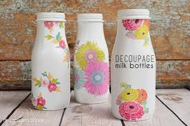 Milk Bottle Decorating Ideas behance 13