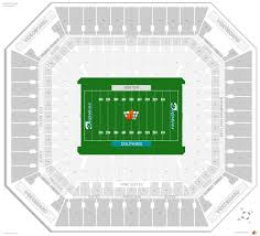 Miami University Football Stadium Seating Chart Miami Dolphins Seating Guide Hard Rock Stadium