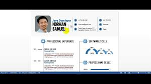 Editing Best Infographic Resume Template By Resumesmag Youtube