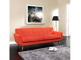 red tufted sofa engage upholstered sofa in atomic red red leather on tufted sofa