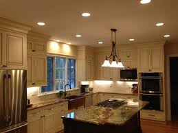 Recessed Lights In Kitchen Interior Led Recessed Lights With Stainless Steel Kitchen
