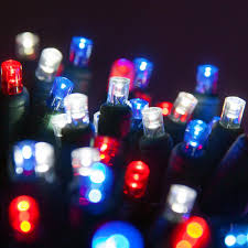 Red White And Blue Christmas Lights Wintergreen Lighting 24 Ft 70 Light Red White And Blue 5