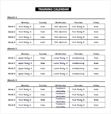 training calendars templates training calendar template excel discopolis club