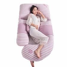 Maternity Big <b>Pillow</b> Waist Abdomen Support U shaped <b>Pregnant</b> ...