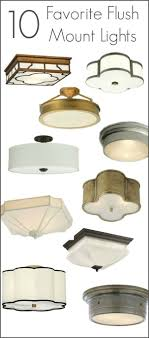 Best Flush Mount Ceiling Lighting - My 10 Faves From Inexpensive to High End