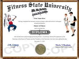 hobby diploma fitness diploma