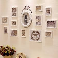 wall art photo frame sets wall picture frames for living room white vintage photo frame