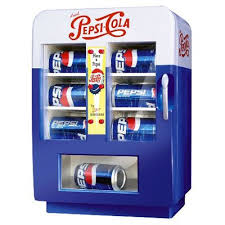 Small Soda Vending Machine